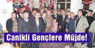 MHP'li Yiğit'ten Canikli Gençlere Müjde!