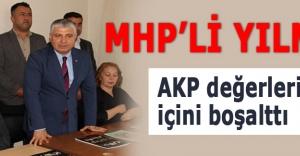 MHP'li Yılmaz: AKP değerlerimizin içini boşalttı