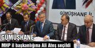 MHP'nin  Gümüşhane il başkanı belli oldu