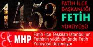MHP'nin İstanbul'da Fetih Yürüyüşü...
