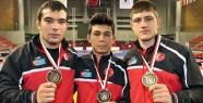 Milli güreşçiler,  3 bronz madalya ile başladı