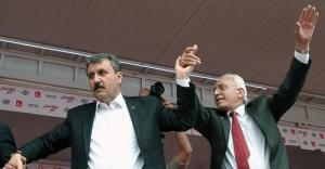 Milli İttifak liderleri,  Cumhurbaşkanı Erdoğan'ı eleştirdi
