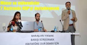 Mimar ve mühendisler da HDP'yi destekleyecek