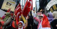 Mısır darbesine ABD'de protesto...