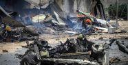 Mogadişu Havaalanı önünde patlama...