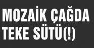 MOZAİK ÇAĞDA TEKE SÜTÜ(!)