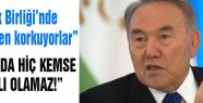 Nazarbayev Avrasya Ekonomik Birliği'ni eleştirenlere cevap...