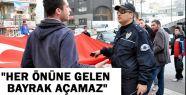 Ne günlere kaldık: Zonguldak'ta, Türk bayrağı açtırılmadı