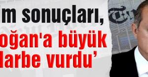 New York Times:  Erdoğan'a büyük bir darbe vurdu