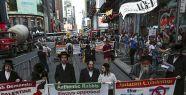New York'ta Gazze eylemi