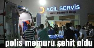 Nusaybin'de Polis Memuru Şehit Oldu!