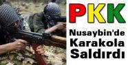 Nusaybin'de Karakola Saldırı