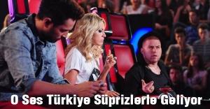 O Ses Türkiye Süprizlerle Geliyor