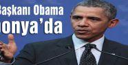 Obama Japonya'da...