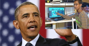 Obama, küçük Ahmed'i Beyaz Saray'a davet etti