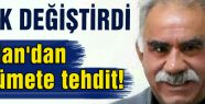 Öcalan Hükümeti tehdit etti...