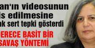 Öcalan Videosuna Kışanak'tan Tepki