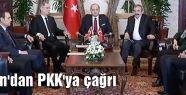 Öcalan'dan PKK'ya Çağrı