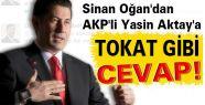 Oğan'dan AKP'li Aktay'a Tokat Gibi Cevap!