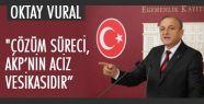 Oktay Vural; PKK Varlığını Meşrulaştırıyor...