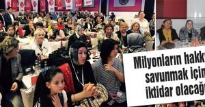 Ömer Süslü: Milyonların hakkını savunmak için iktidar olacağız