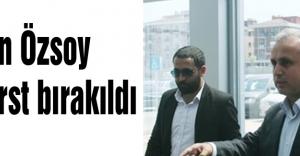 Osman Özsoy serberst bırakıldı