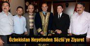 Özbekistan Heyetinden Sözlü'ye Ziyaret
