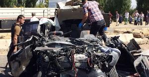 Özel Harekat ekibi kaza yaptı: 2 şehit