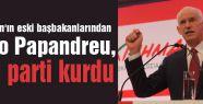 Papandreu, yeni parti kurdu