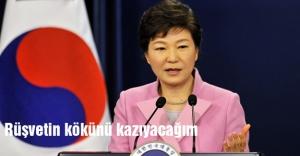 Park Geun-hye: Rüşvetin kökünü kazıyacağım