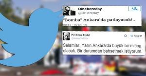 Patlamadan önce Tweet atanlar yakalandı
