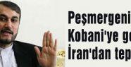 Peşmergenin Kobani'ye geçişine İran'dan tepki