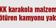 PKK Kamyon Yaktı...