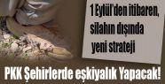 PKK Şehirlerde eşkiyalık Yapacak!