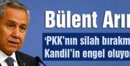 'PKK'nın silah bırakmasına Kandil'in engel oluyor'