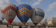 Polis Haftası'na özel balon turu...