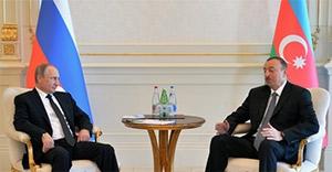 Putin, Aliyev'le görüştü; Bakü ile ilişkiler geliştirilecek