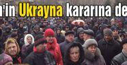 Putin'in Ukrayna kararına destek