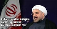 Ruhani: Nükleer anlaşma ancak...