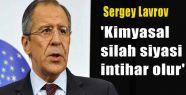 Rusya İlk Kez Kimyasal Silahla İlgili Uyardı