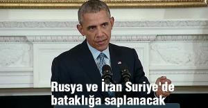 'Rusya ve İran Suriye'de bataklığa saplanacak'