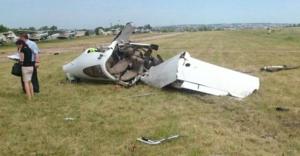 Rusya'da tek motorlu uçak düştü