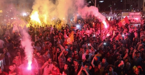 Şampiyon Galatasaray kutlamalarI
