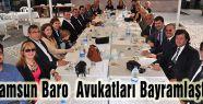 Samsun Baro  Avukatları Bayramlaştı
