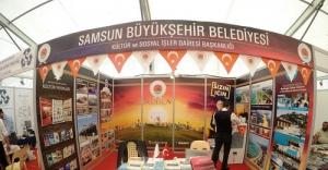 Samsun Büyükşehir Belediyesi projelerini Ankara'da tanıttı