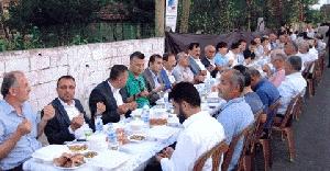 Samsun'da 2.000 kişi bayram yemeğinde buluştu