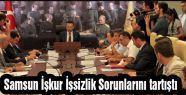 Samsun İşkur İşsizlik Sorunlarını tartıştı
