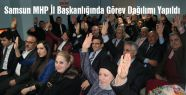 Samsun MHP İl Başkanlığında Görev Dağılımı Yapıldı