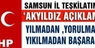 Samsun MHP'den 'Akyıldız' açıklaması