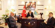 Samsun MHP'den İlkadım Belediye Başkanına Ziyaret
